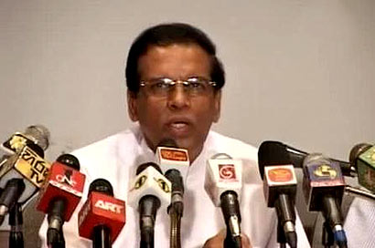 Minister Sirisena complains of vicious media campaign against him