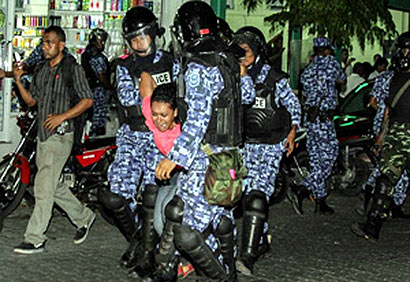 Maldives Political issues