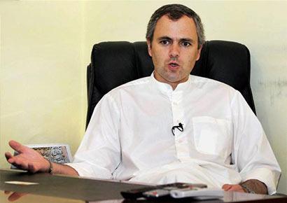 Jammu & Kashmir chief minister Omar Abdullah