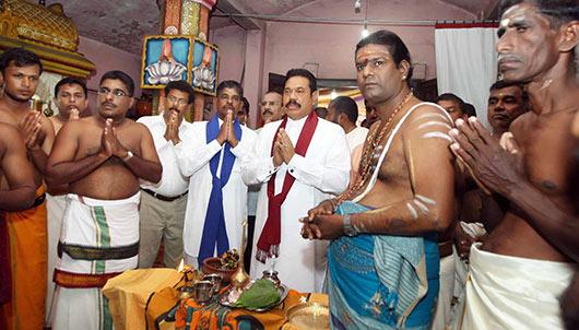 Deyata Kirula develops the Muhudu Maha Vihara in Pottuwil for future generations