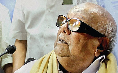 Karunanidhi on Lanka issue
