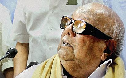 Karunanidhi on Lanka issue