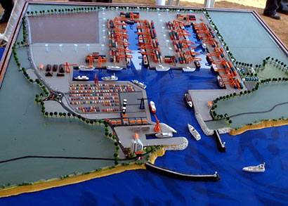 Hambantota port plan