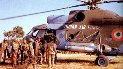Indian Air Force in Sri Lanka - IPKF