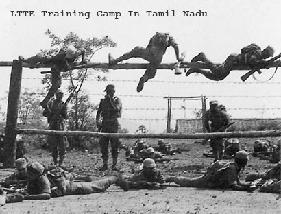 LTTE training camp in Tamil Nadu