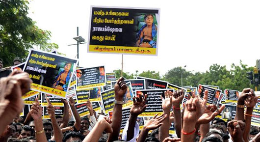 Stalin, DMK activists arrested for trying to picket Sri Lankan Mission