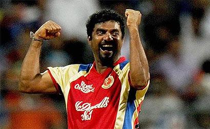 Muttiah Muralitharan in IPL Cricket