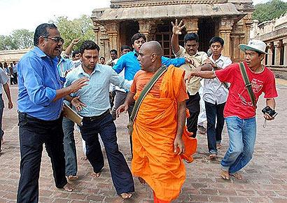 Sri Lankan monk assaulted in Tiruchi