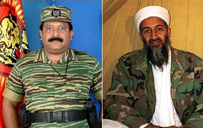 Terrorists killed : Prabakaran's son and Osama's son