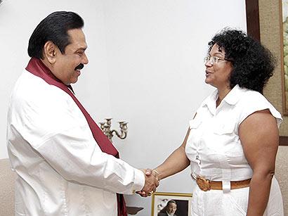 President Rajapaksa pays respect to Late Venezuelan President Hugo Chavez