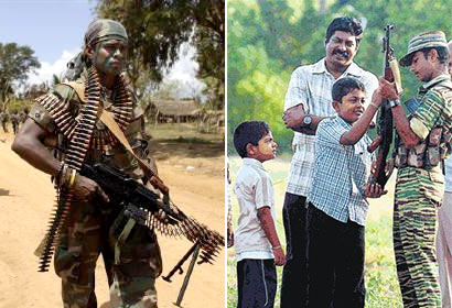 Rights of Sri Lanka's Soldier's vs LTTE Terrorists