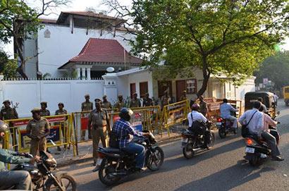 Sri Lanka Deputy High Commission seeks more security