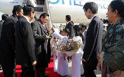 President Rajapaksa Begins Official Visit to Japan