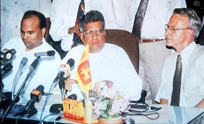 Ceasefire Agreement sign in 2002 between Sri Lanka Government and LTTE
