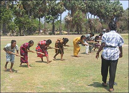 Civilians under LTTE rule