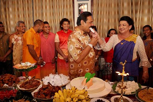 Sri Lanka's First Family celebrates New Year at Carlton House