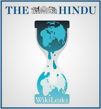The Hindu and Wikileaks