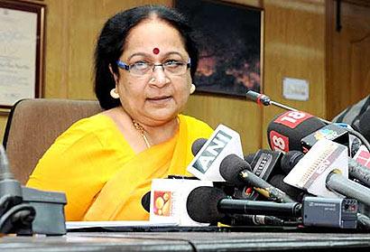 Indian Minister Jayanthi Natarajan