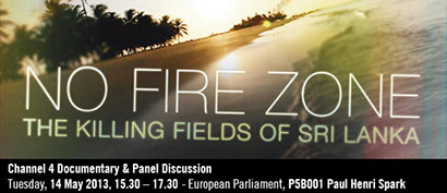 "Screening of ""No Fire Zone"" in the European Parliament"
