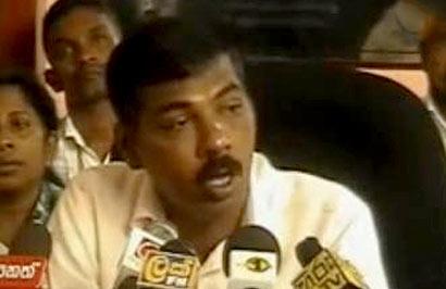 The Chairman of the Kelaniya Pradeshiya Sabha, Prasanna Ranaweera