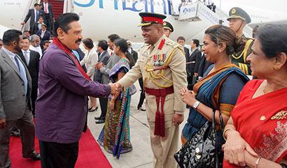 President Receives Warm Welcome in Beijing