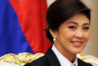 Prime Minister of Thailand Ms. Yingluck Shinawatra