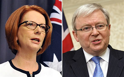 Gilard and Rudd - Australia