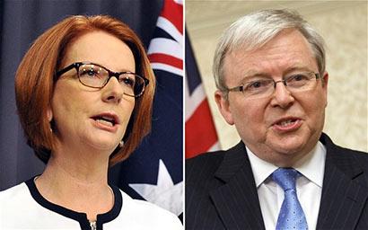 Gilard and Rudd - Australia