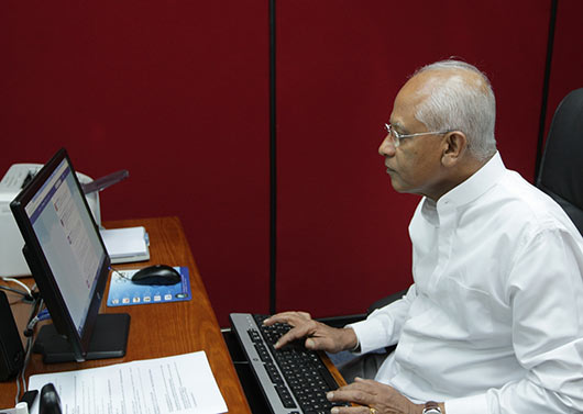 Secretary to the President Mr. Lalith Weeratunga