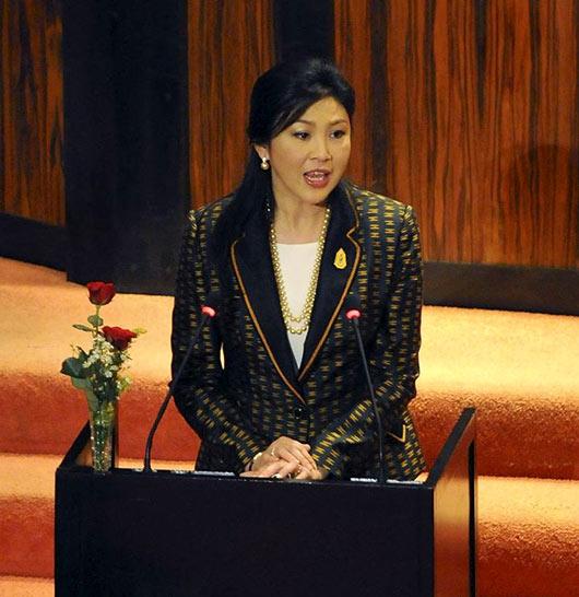 Thailand Prime Minister at Sri Lanka Parliament