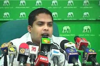 UNP MP Harin Fernando