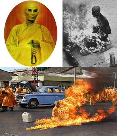 Vietnamese Buddhist monk Thich Quang Duc