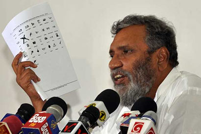 Election Commissioner Mahinda Deshapriya