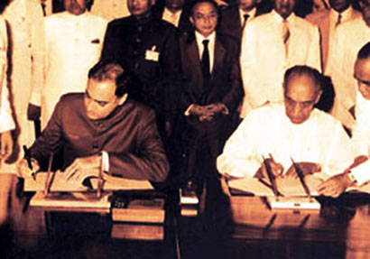 Signing of Indo Sri Lanka accord