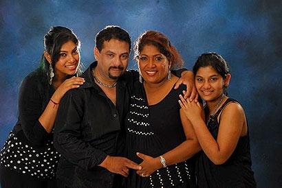 Rookantha and Chandraleka Family