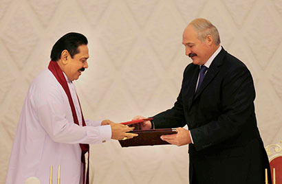 Sri Lanka and Belarus Sign Seven Bilateral Agreements