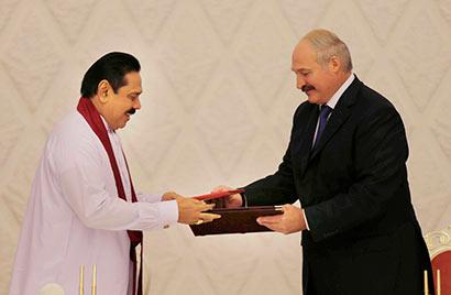 Sri Lanka and Belarus Sign Seven Bilateral Agreements