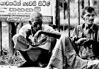 Sri Lankan Beggers