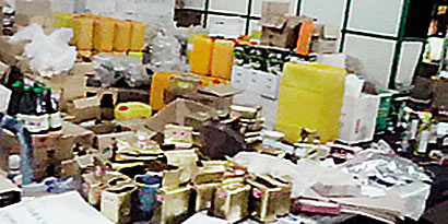 Expired Food Items