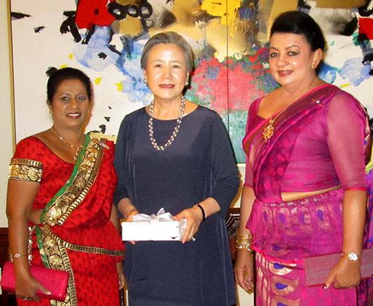 First lady Shiranthi Rajapaksa