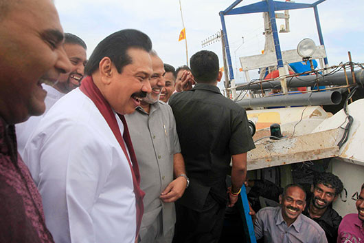 New Oluvil Harbour vested in the public