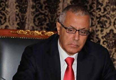 Libyan Prime Minister Zeidan