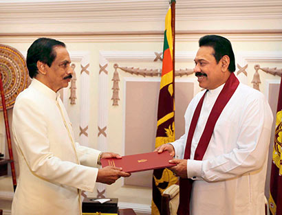 Bennet Cooray assumes duties as Sri Lanka's Ambassador to Italy