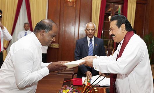 Nine more Deputy Ministers sworn-in
