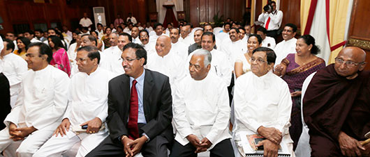 Nine more Deputy Ministers sworn-in