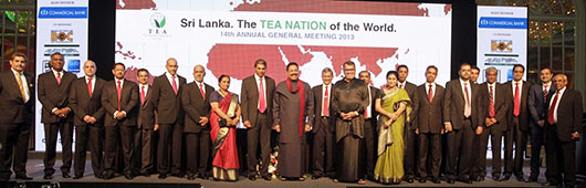Sri Lanka President Mahinda Rajapaksa at Sri Lanka: The Tea Nation