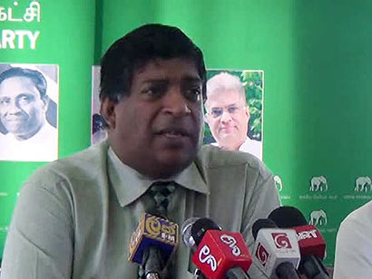 UNP MP Ravi Karunanayake