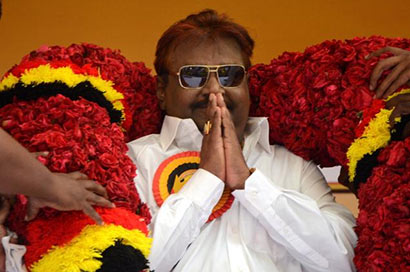 India should boycott CHOGM, says Vijaykanth