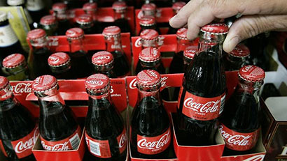 Coke sales suspended