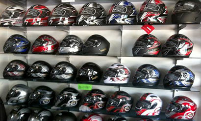 Full face helmets in Sri Lanka